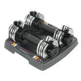 12.5 lbs Adjustable Speed Weight Dumbbell