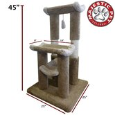 45&quot; Kitty Jungle Gym Cat Tree