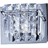 Bangle One Light Wall Sconce in Polished Chrome