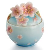 Sakura Floral Sugar Bowl with Cover