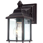 "Charleston 9"" H Outdoor Wall Lantern in Antique Bronze"