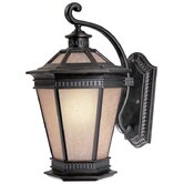 Vintage 13.25&quot; H Outdoor Wall Lantern in Winchester - Energy Star