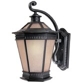 "Vintage 20.25"" H Outdoor Wall Lantern in Winchester - Energy Star"