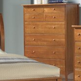 Cherry Garden 8 Drawer Dresser