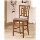 "Trent 24"" Bar Stool Medium Brown"