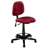 Height Adjustable Task Drafting Chair with Swivel.
