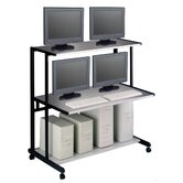 NetStart LAN Support Stations: 48&quot; W LAN Station