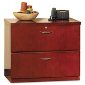 Mira Series Wood Veneer 2-Drawer Lateral File