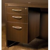 Aberdeen 15.25&quot; W x 26.5&quot; D Desk Pedestal