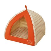 Orange Checkers Tent