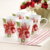 Signature Amaryllis 11 oz. Mug (Set of 4)