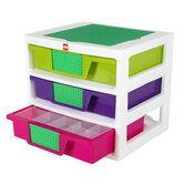 Lego Friends Project Drawer Unit Toy Box