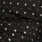 Black Skullstar Sheet Set - California King
