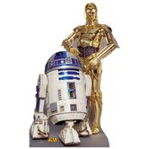 Star Wars - R2-D2 &amp; C-3P0 Life-Size Cardboard Stand-Up