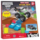 Monster Jam Grave Digger Action Pack Building Set