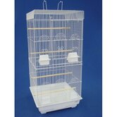 Tall Square Top Small Bird Cage