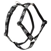 "Bling Bonz 1"" Adjustable Large Dog Roman Harness"