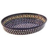 "14"" Oval Baking Pan - Pattern 41A"
