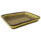 "12""  Rectangular Baking Pan - Pattern DU1design"