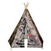 Hideaway Five Panel Camo Tank Teepee