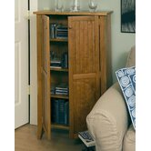 Tall Double Jelly Cabinet in Golden Oak
