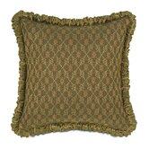 Vaughan Polyester Savoie Decorative Pillow with Ruched Welt