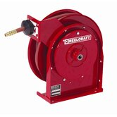 "0.25"" x 50', 300 psi, Premium Duty Air / Water Reel with Hose"