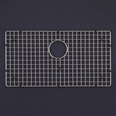 WireCraft 15.5&quot; x 29.5&quot; Bottom Grid for Epicure 33&quot; Farmhouse Sink in Stainless Steel