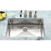 Nouvelle Undermount Gourmet Large Single Bowl Sink in Stainless Steel