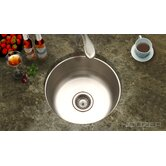 Hospitality Topmount Round Bar / Prep Sink in Stainless Steel
