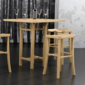 Tulip Counter Height Dining Bamboo Table