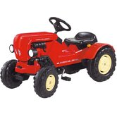 Porsche Diesel Junior Tractor in Red