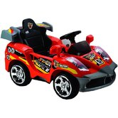 Remote Controlled Star Car 6V in Red