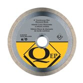 "4"" Continuous Diamond Blade - Wet/Dry"