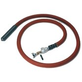"12' High Frequency Pneumatic Internal Concrete Vibrator w/ 2 - 1/2"" Head, Flexible Shaft & 2100 lbs of Force"