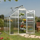 Nature Twin Wall Polycarbonate Greenhouse