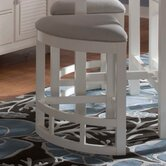 Mirren Harbor Upholstered Seat Wedge Counter Stool (Set of 4)