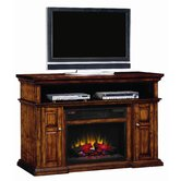 "Sterling 56"" TV Stand with Electric Fireplace"