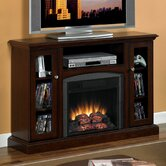 "Advantage Bancroft 47"" TV Stand with Electric Fireplace"