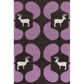 Avalisa Purple Deer Novelty Rug