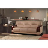 Tourmaline 3 Piece Leather Sofa Set