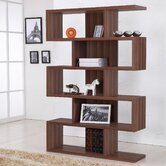 Marcel Bookcase/Display Stand in Matte Walnut