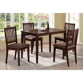 Downtown 5 Piece Dining Set