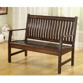 La Conchita Solid Wood Entryway Bench