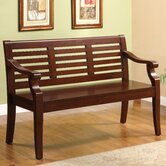 Angelle Solid Wood Entryway Bench