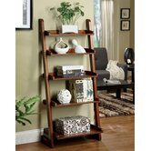 Lugo Bookcase/Storage Cabinet in Antique Oak