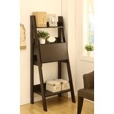 Stanton Ladder Style Writing Desk with Shelves