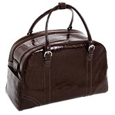 Monterosso Buranco 20&quot; Leather Travel Duffel