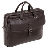 Borella Small Leather Laptop Brief