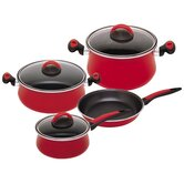 Due Porcelain on Steel 7-Piece Cookware Set